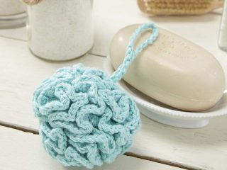 crochet sudsy bath pouf | the crochet space
