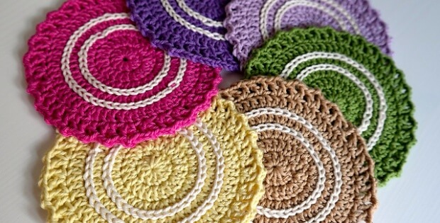 crochet summer boaters coasters | the crochet space