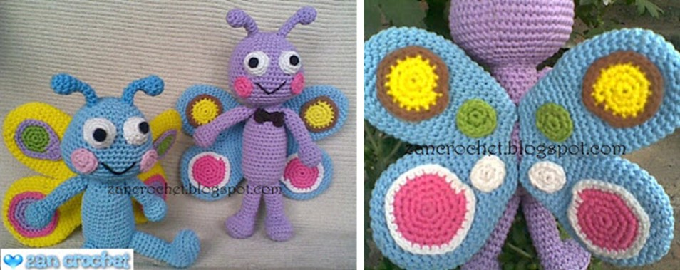 You'll Love These Crochet Butterflies | The WHOot | 379x954