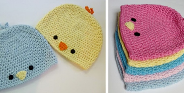 crochet bird hat | the crochet space