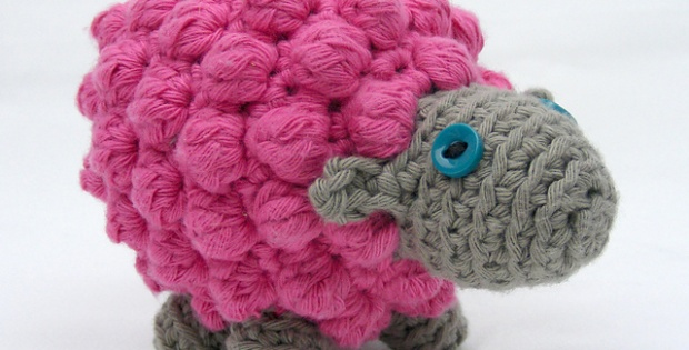 crochet bobble sheep | the crochet space