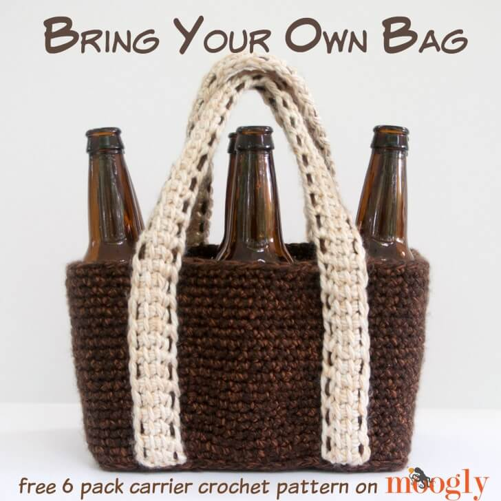 crochet bring your own bag   the crochet space