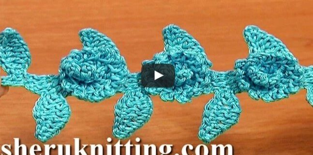 crochet floral cord | the crochet space
