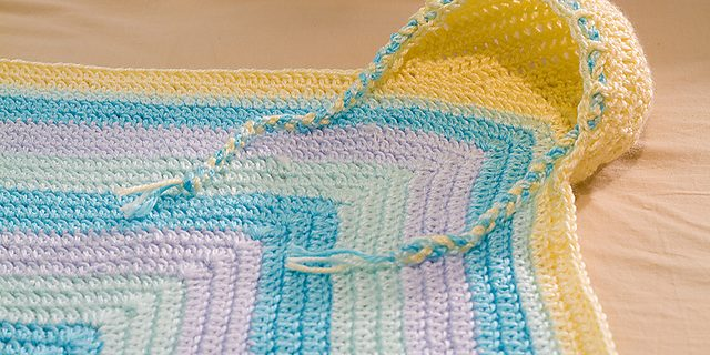 crocheted hoodie blanket | the crochet space