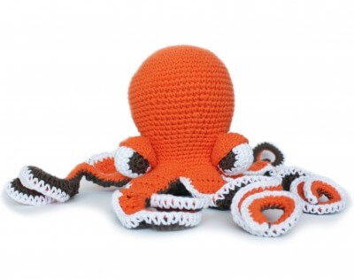 crochet Octavia octopus | the crochet space