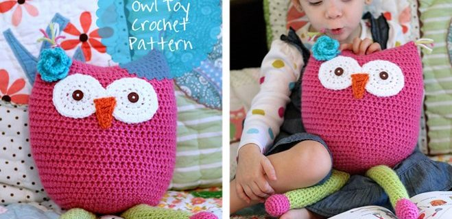 crochet owl toy | the crochet space