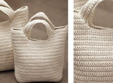 Crocheted Seamless Starling Handbag | the crochet space