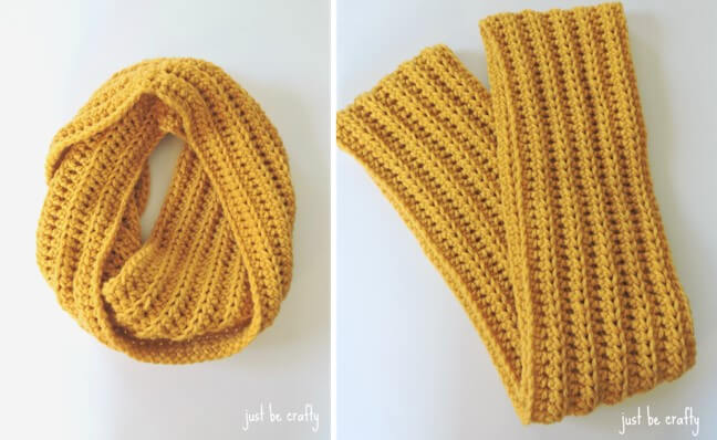 simple chunky crocheted cowl | the crochet space