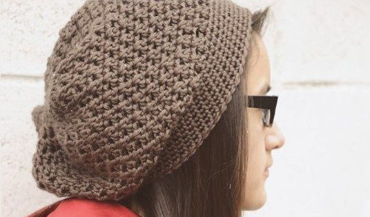 Crocheted Jenny Slouch Hat Free Crochet Pattern