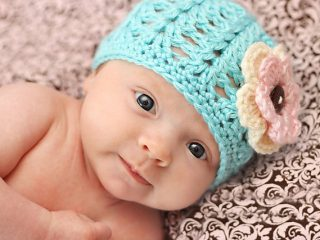 crocheted shell stitch beanie   the crochet space