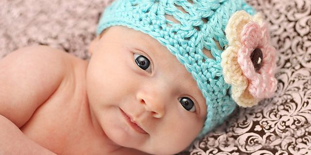 crocheted shell stitch beanie | the crochet space
