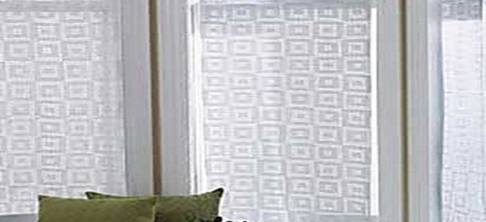 Crocheted Lace Block curtains | the crochet space