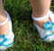 Bonnie Blue Crochet Baby Shoes | the crochet space