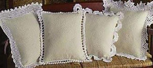 Charming Crochet Pillow Edgings Free Crochet Pattern