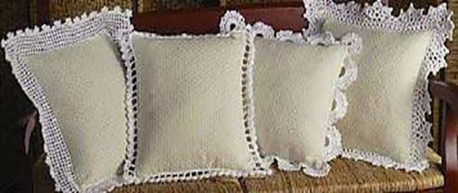Charming Crochet Pillow Edgings | the crochet space