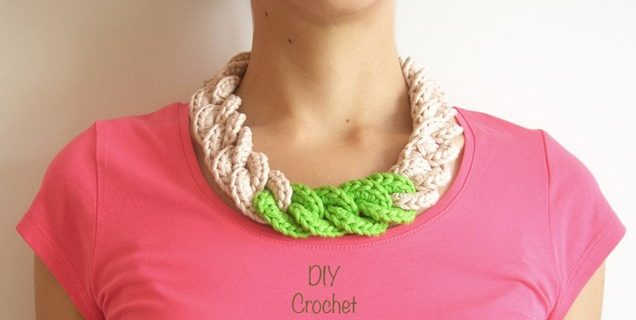 Stylish Crocheted Chain Necklace | the crochet space
