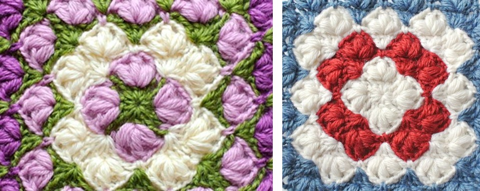 Crocheted Square Blanket   the crochet space