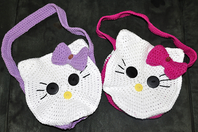 Crochet Hello Kitty free pattern amigurumi | Amigurumi Space | 425x640