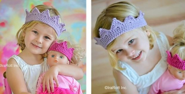 Little Princess Crochet Crown | the crochet space