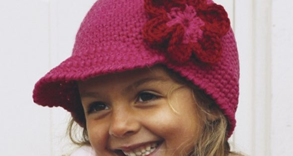 Miss Spring Crochet Flower Hat Free Crochet Pattern