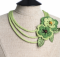 All Users Crochet Sylvan Necklace | the crochet space