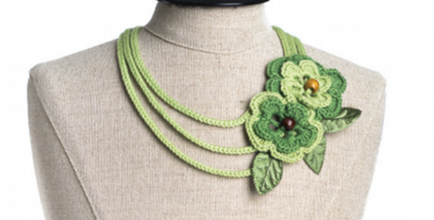 All Users Crochet Sylvan Necklace Free Crochet Pattern