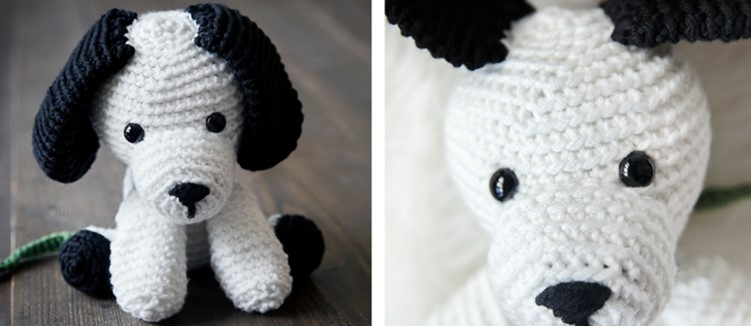 Crochet Puppy For Loving Little Kids [FREE Crochet Pattern]