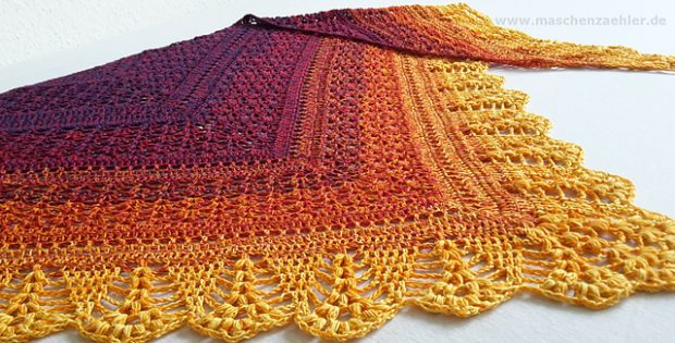 Erigeneia Crocheted Lace Shawl Free Crochet Pattern