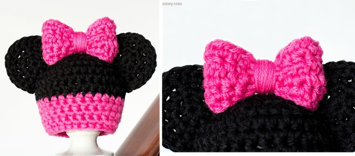PDF Digital Download Vintage Crochet Pattern Mickey & Minnie Mouse ... | 306x697