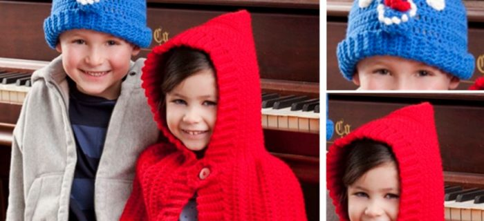 Crocheted Red Riding Hood Plus Wolf Hat | the crochet space