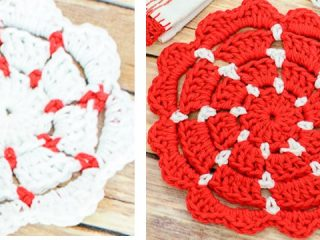 Simple Crocheted Pot Holders