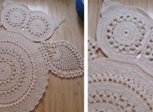 Hedvig Crocheted Owl Carpet | the crochet space