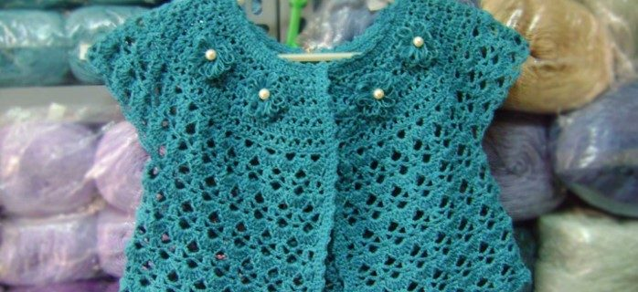 crocheted spring lace jacket   the crochet space