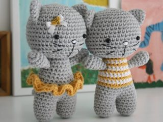 cute crocheted amigurumi cats | the crochet space