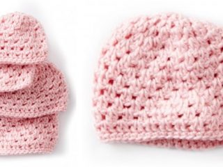 baby's first crocheted cluster hat | the crochet space