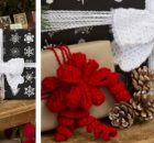 glamour crocheted gift bows | the crochet space