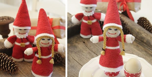 Kringles crocheted Christmas ornaments | the crochet space