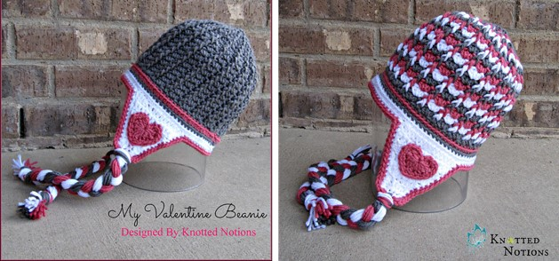 Valentine crocheted hat | the crochet space