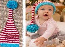 Cute Crocheted Baby Elf Hat | the crochet space