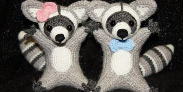 Crocheted Raccoon Amigurumi Free Crochet Pattern