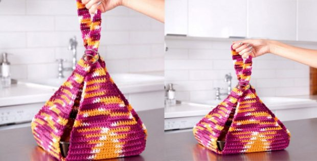 Crocheted Casserole Carrier [FREE Crochet Pattern]