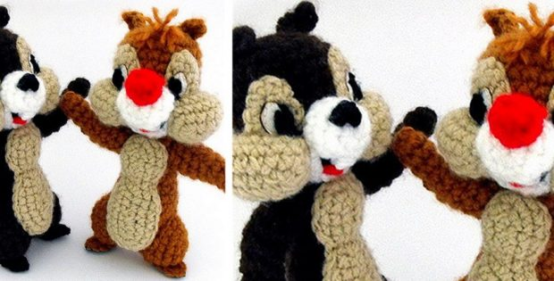 Chipmunks crocheted softies | the crochet space