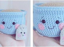 crocheted amigurumi tea cup | the crochet space