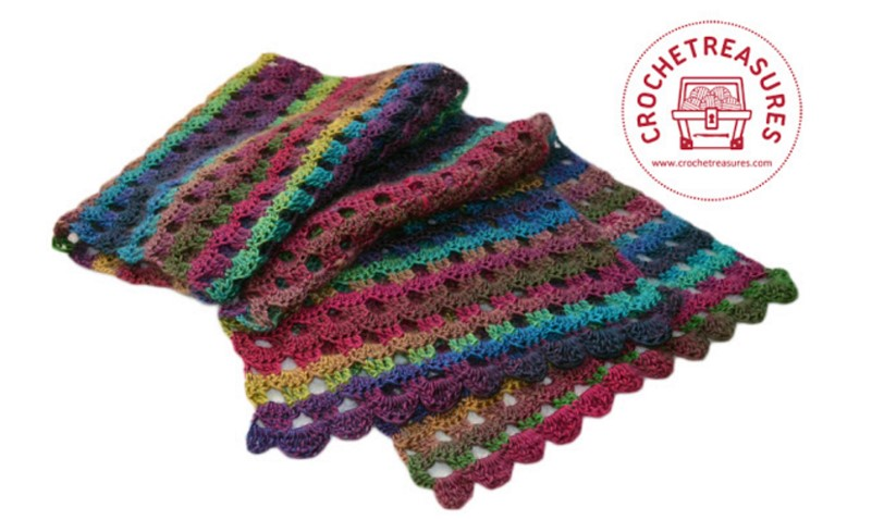 Dew Drop Wrap Free Crochet Pattern : Dew Drops Crocheted Wrap [FREE Crochet Pattern]