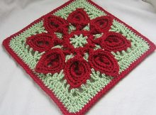 Purifying Puritans Crocheted Afghan Block | The Ravelry