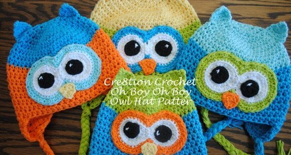 oh boy oh boy crocheted owl hat | the crochet space