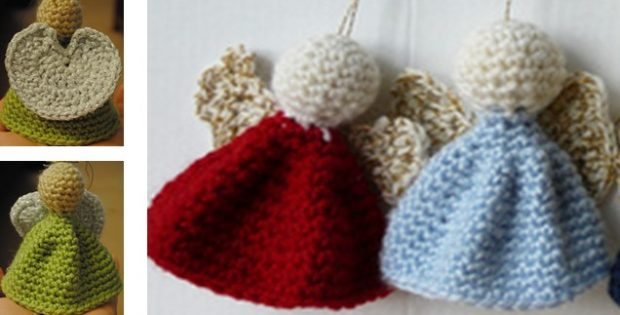 Crocheted Angel Ornaments | the crochet space