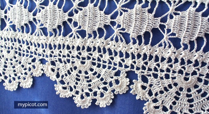 Home Work crocheted lace   the crochet space