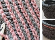 try surface crochet stitch | the crochet space