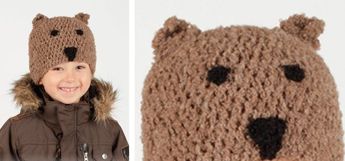 Little Bear crocheted beanie | the crochet space